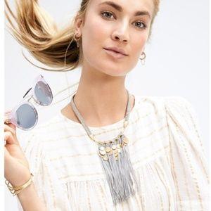 Stella & Dot Samar Fringe Necklace